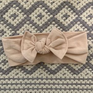 Turbans for tots bow
